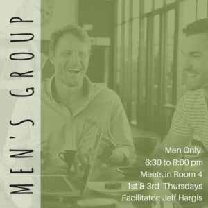 6:30pm NVC's Men's Group @ Room 4